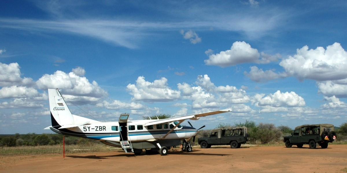 6 days luxury flying safari